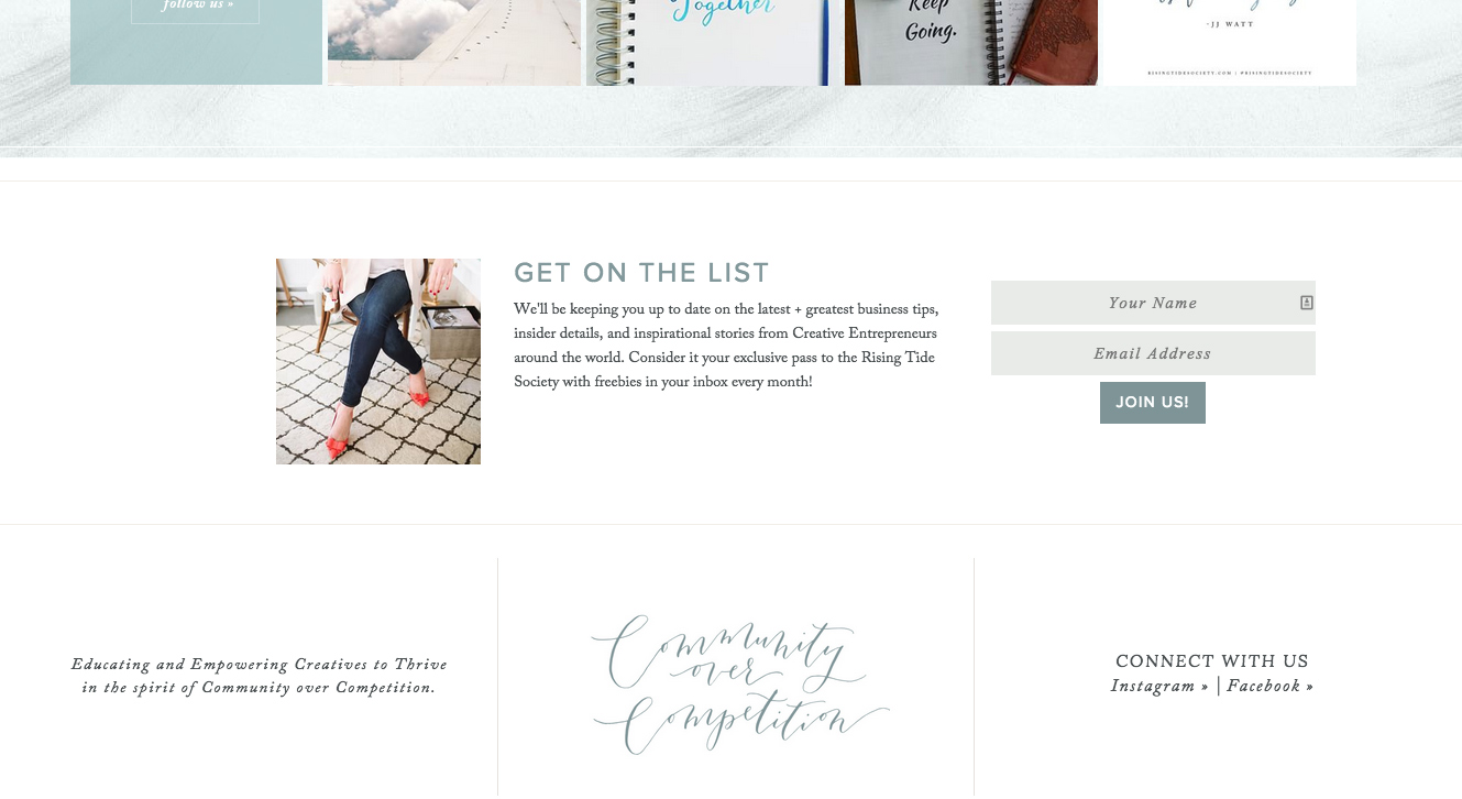 Build an email mailing list the right way with these tips from The Palm Shop