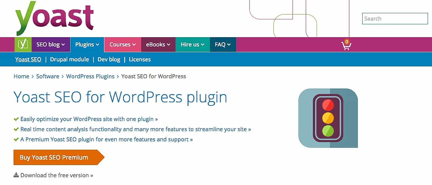 Installing the Yoast SEO plugin on WordPress Sites | via Davey & Krista