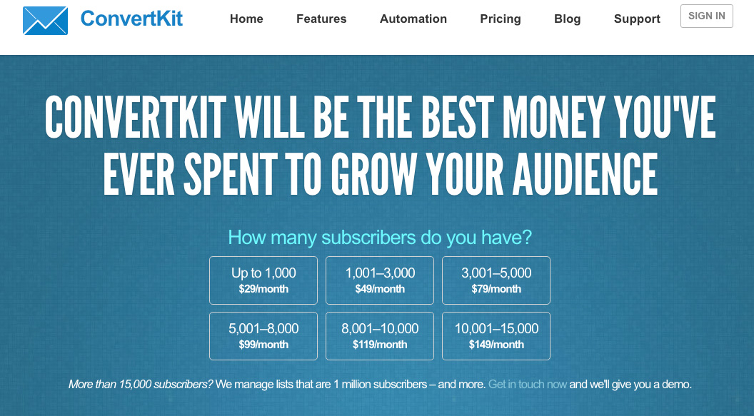 Build Your Email List with ConvertKit