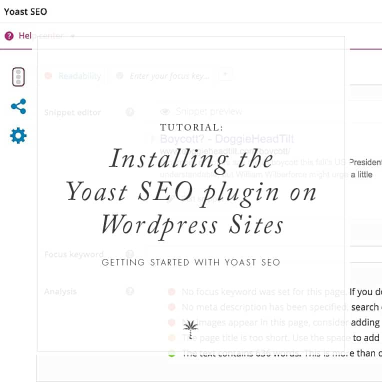 Install Yoast SEO Plugin for WordPress | Davey & Krista