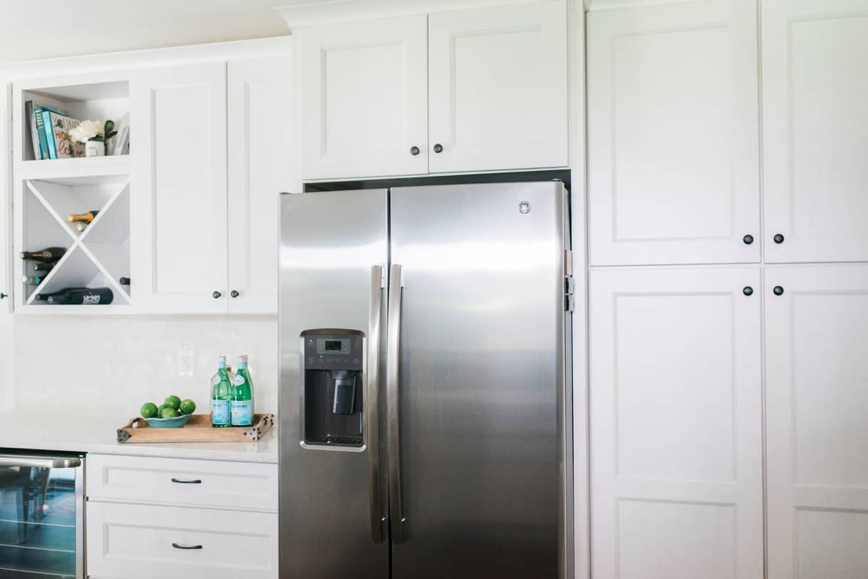 Coastal Kitchen Design White Cabinets Annapolis Maryland