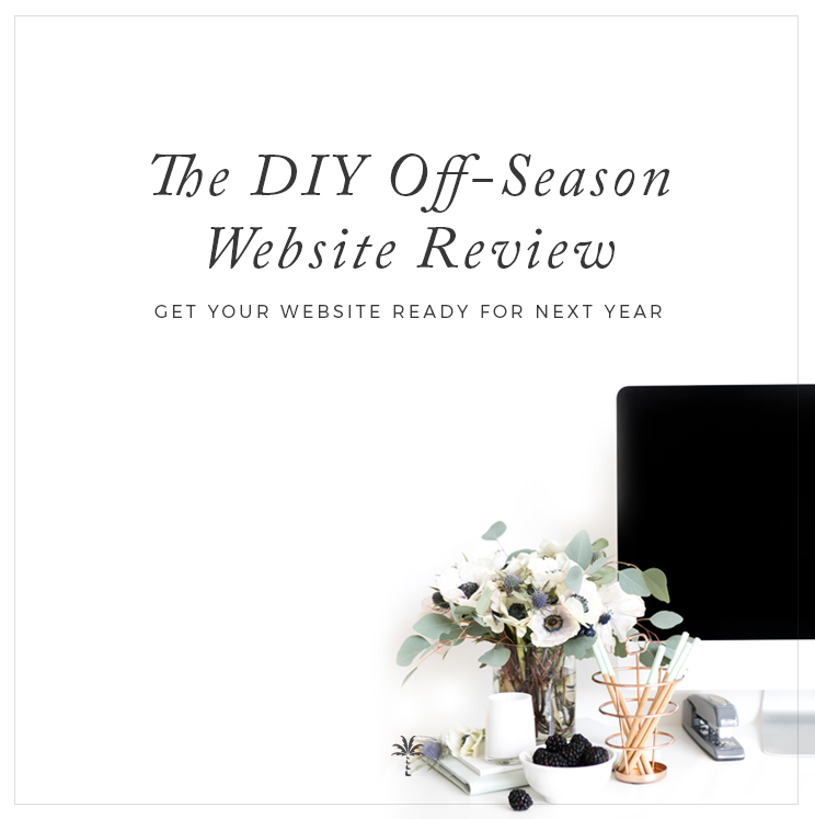 DIY Off Season Website Review for Photographers & Creatives | Davey & Krista