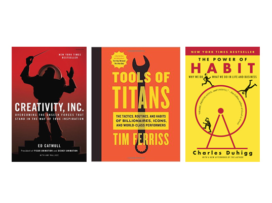 Five books for entrepreneurs and small business owners | Davey & Krista