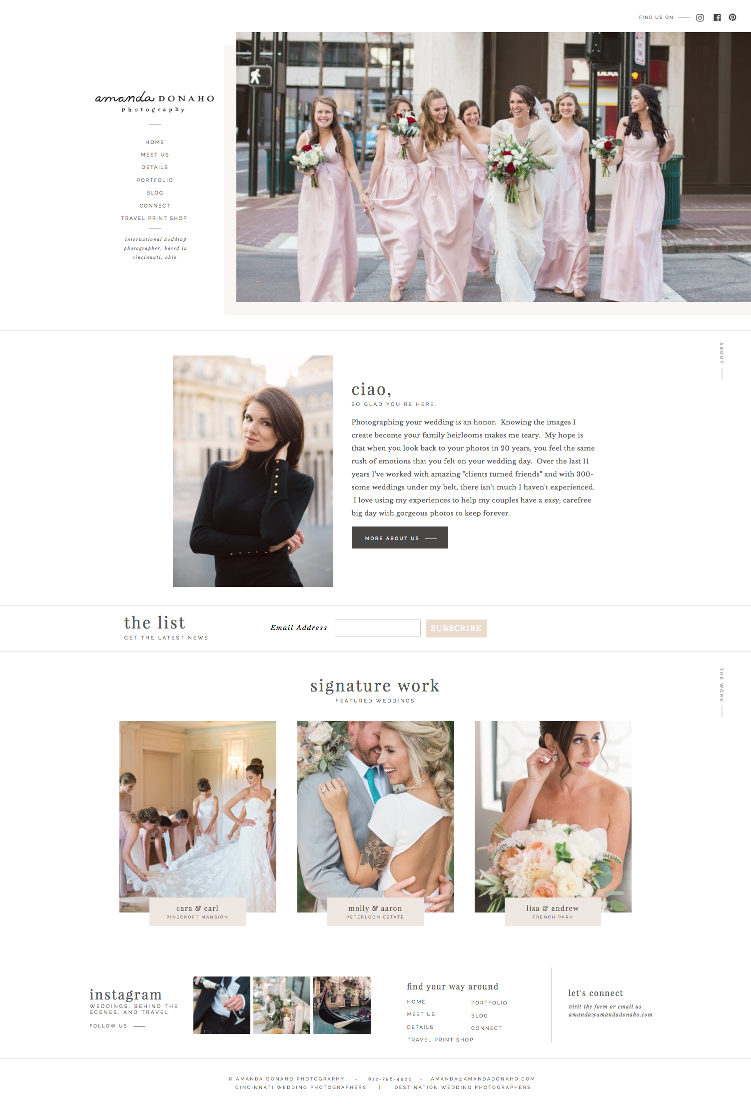 Showit website templates for photographers & creatives | Davey & Krista