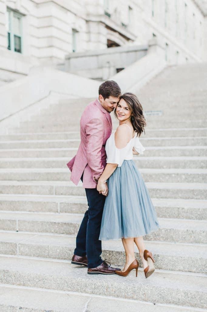 About Page headshot | Davey & Krista