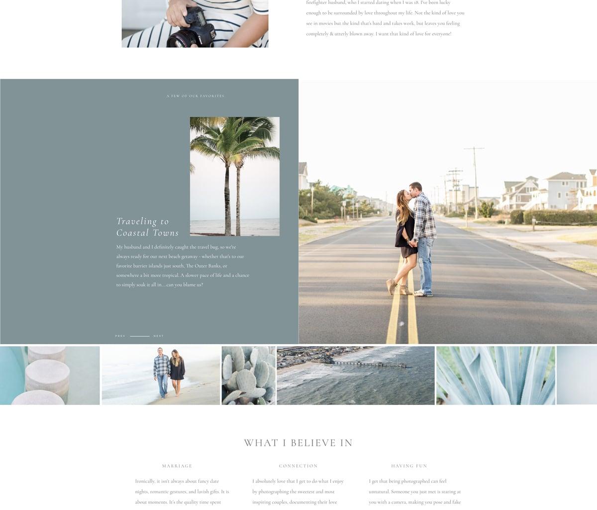 Custom Brand & Showit Website Template Launch   Elizabeth Friske