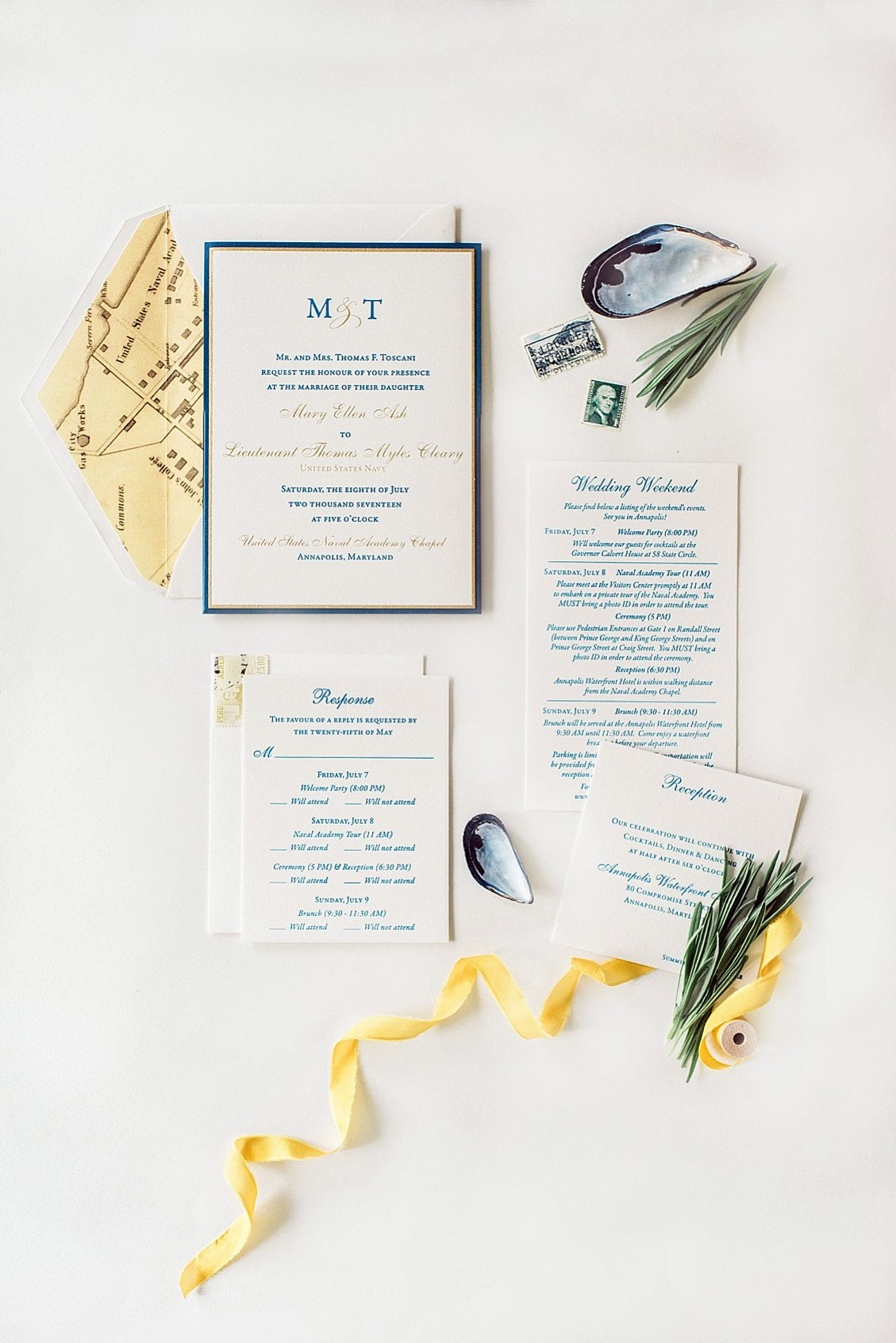 How to style wedding invitations & flat lays with a styling kit | Davey & Krista