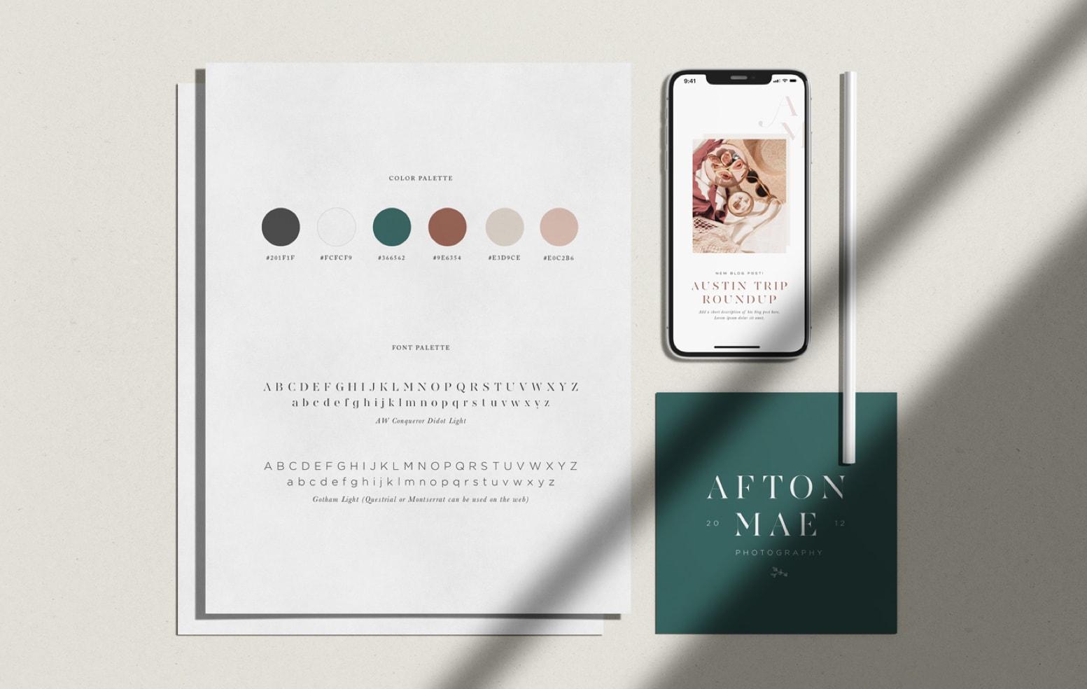Semi-Custom Brand: Afton Mae