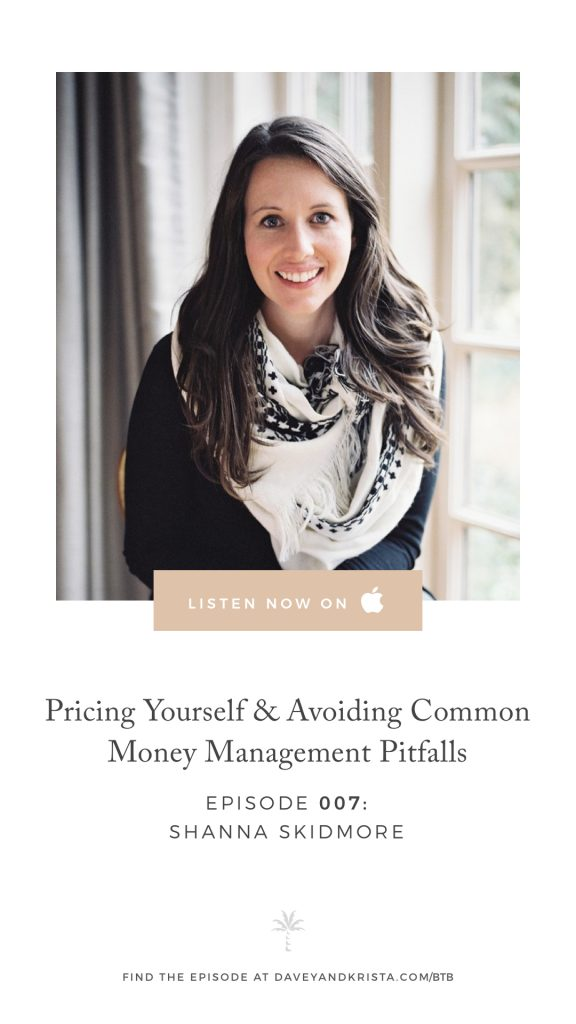 Pricing Yourself & Avoiding Common Money Management Pitfalls in Business   Brands that Book Podcast   Davey & Krista