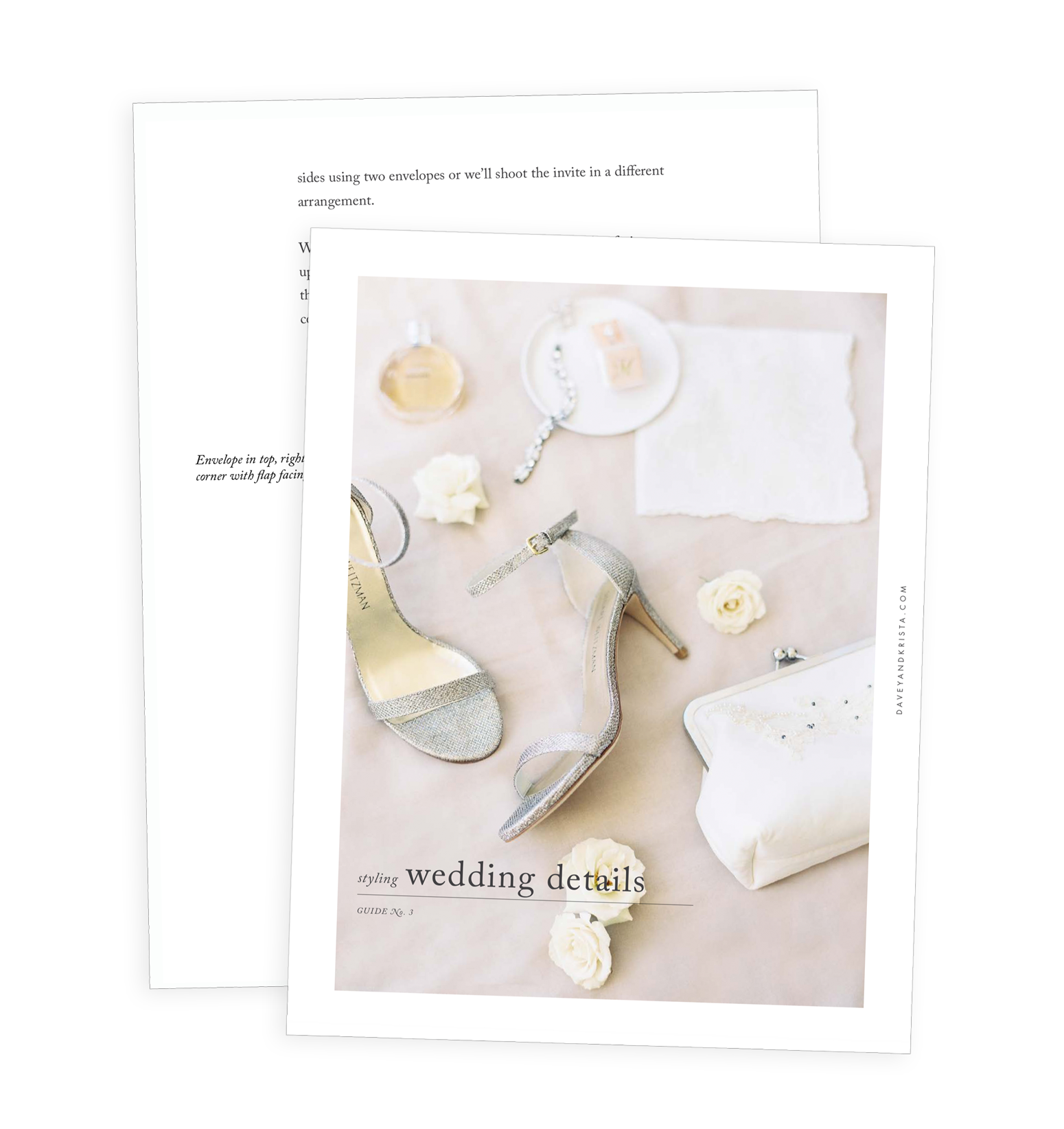 Free Guide for Styling Perfect Wedding Day Details | Davey & Krista