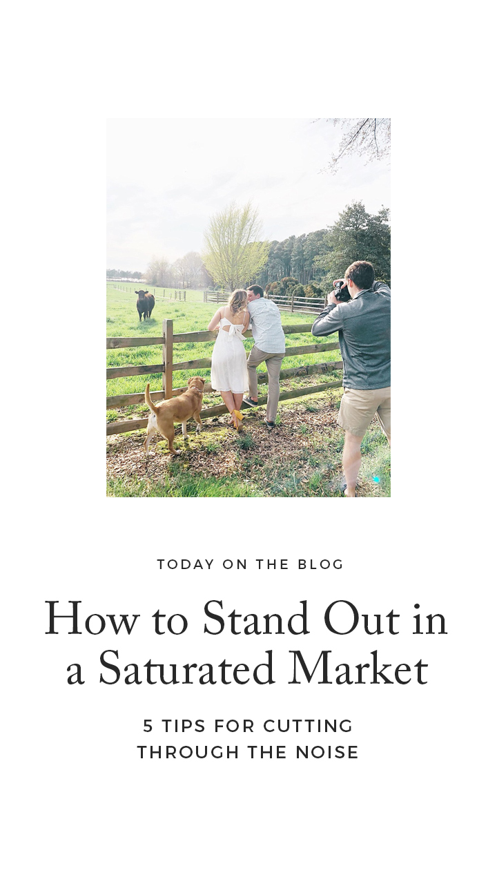 How to Stand out in a Saturated Market (for Photographers, Planners and Creative Business Owners) | Davey & Krista