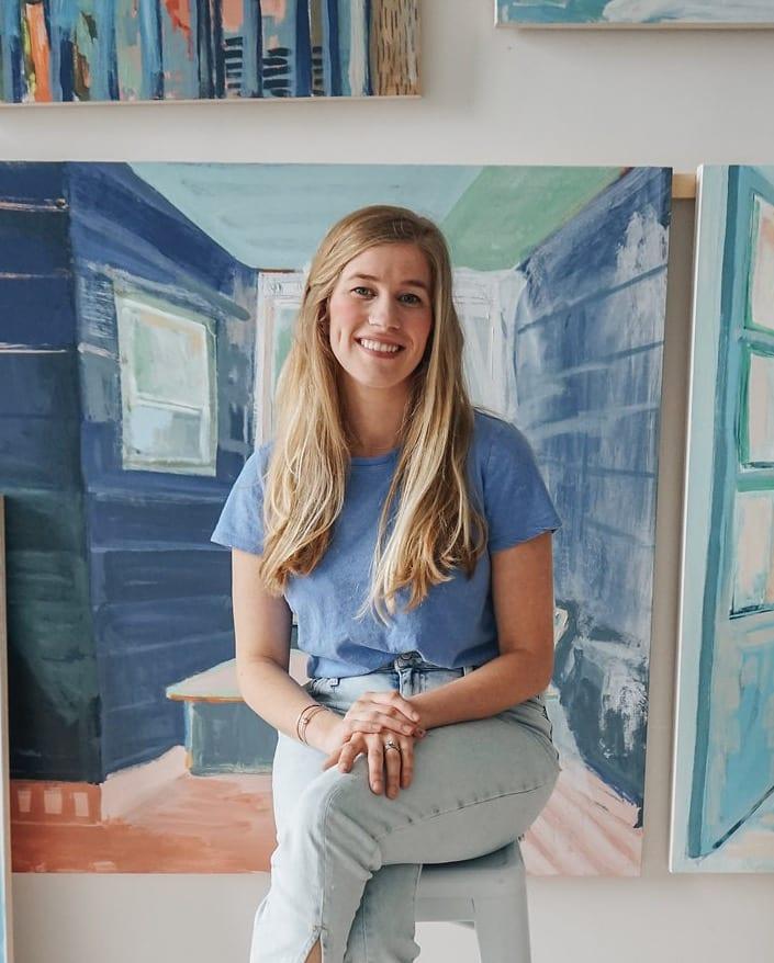 Blakely Little - Making a living as an artist | Brands that Book podcast | Davey & Krista