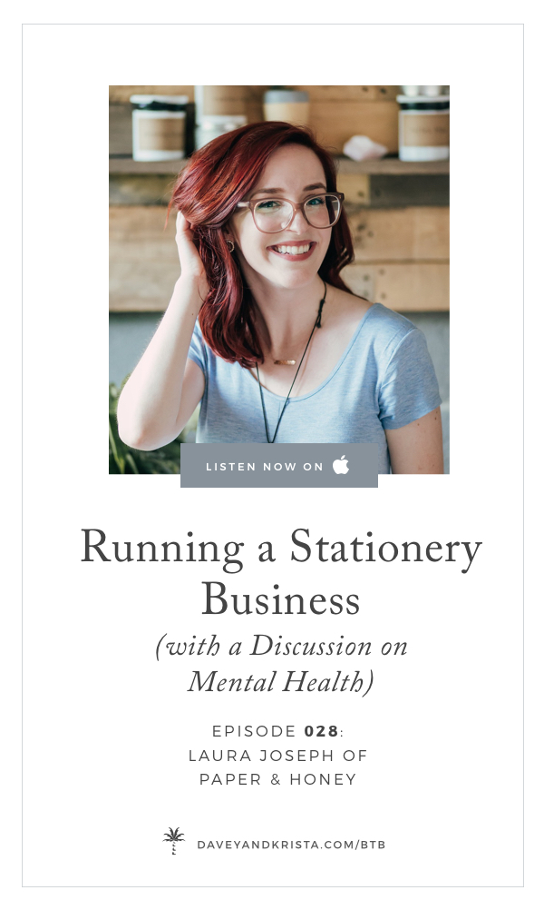 Laura Joseph - Starting a Stationery Business | Brands that Book Show | Davey & Krista