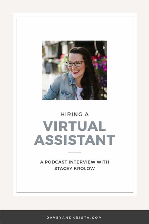 Hiring a Virtual Assistant - Stacey Krolow | Brands that Book podcast | Davey & Krista
