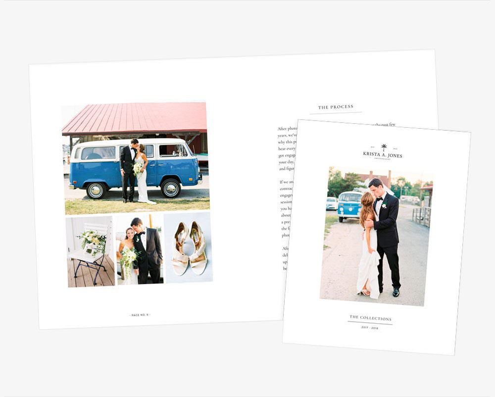 Beautiful PDF pricing guide for photographers and creatives by Davey & Krista