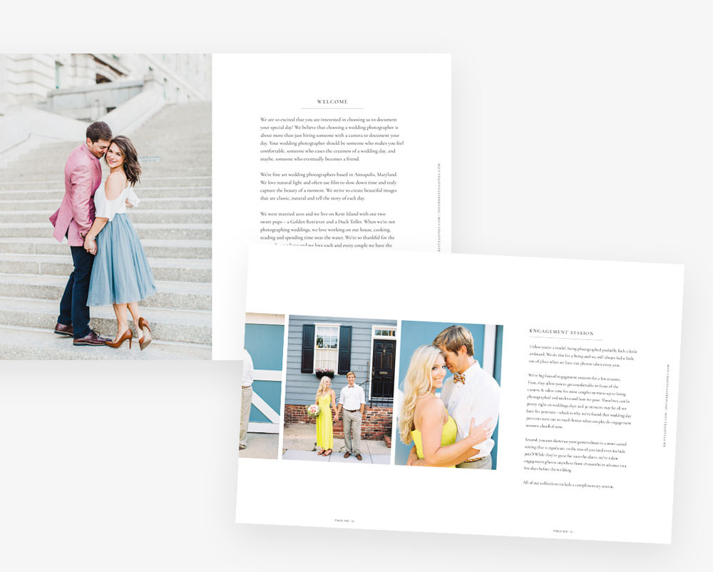 Pricing Guide (PDF) | Davey & Krista