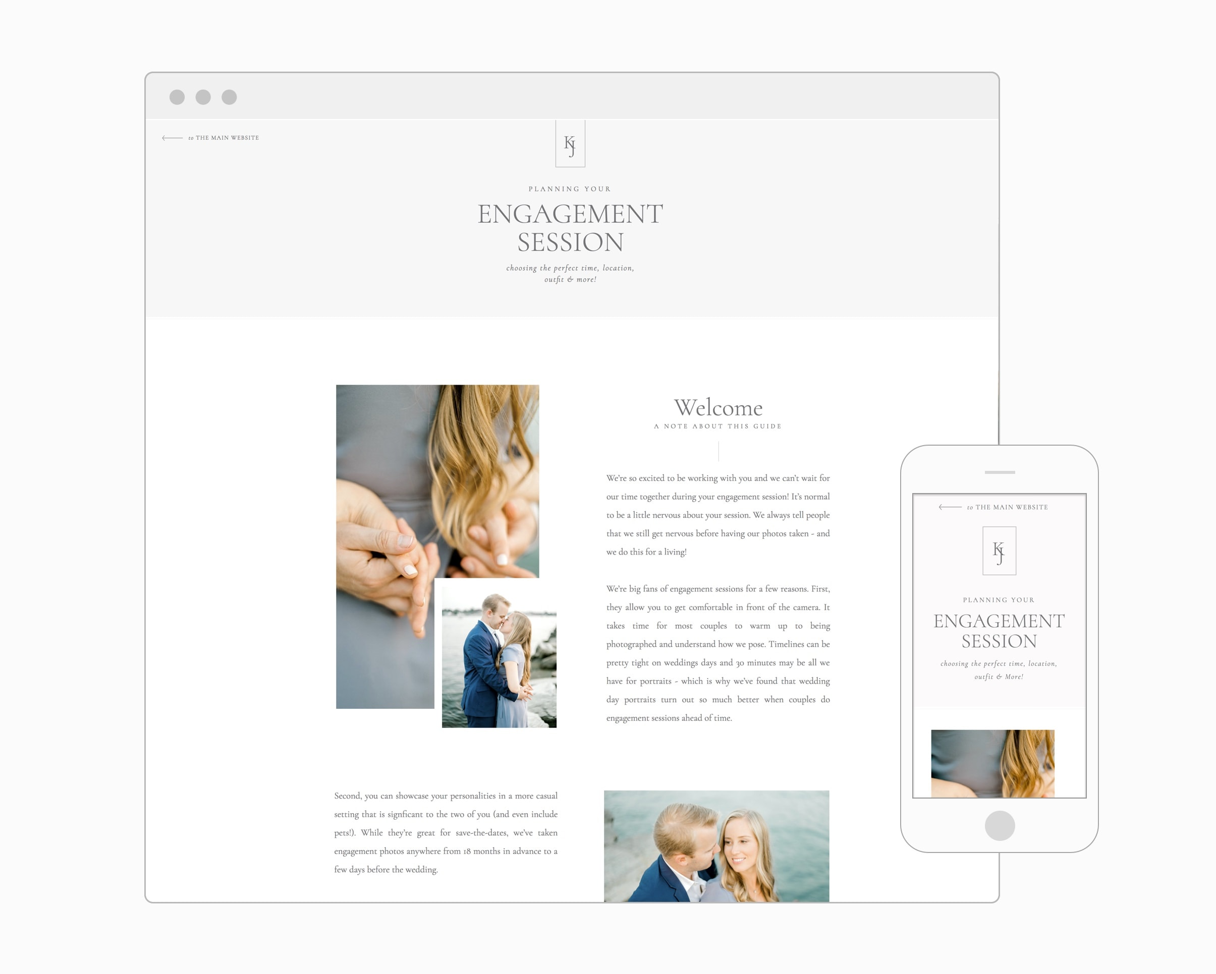 Engagement Guide (Showit)