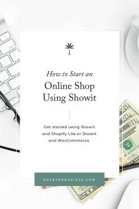 How to Start an Online Shop Using Showit | Davey & Krista