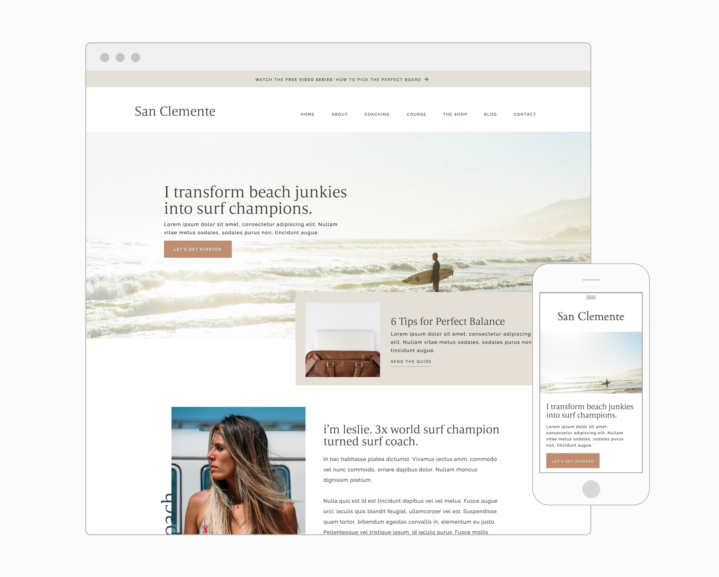 San Clemente (WordPress)