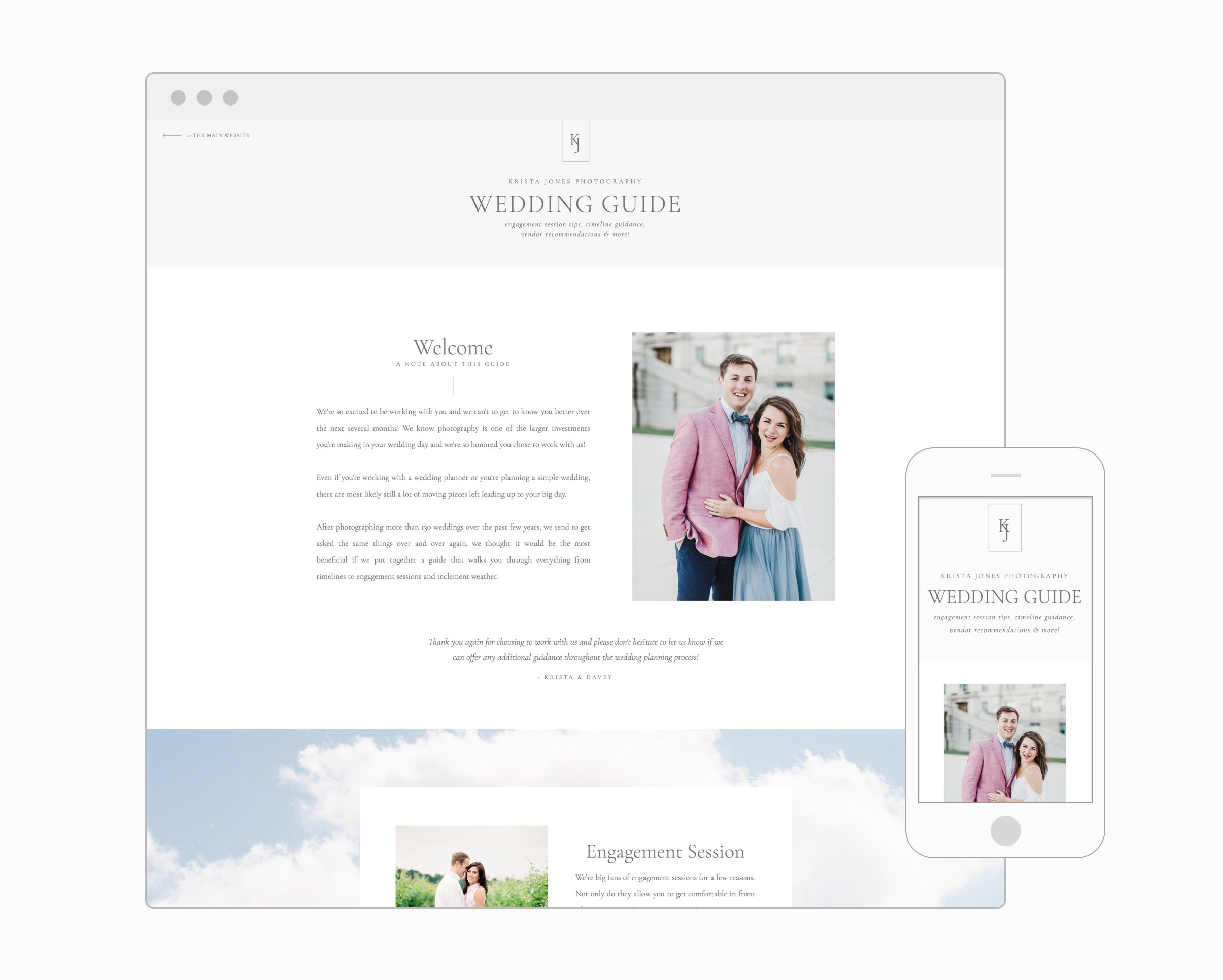 Wedding Guide (WordPress)