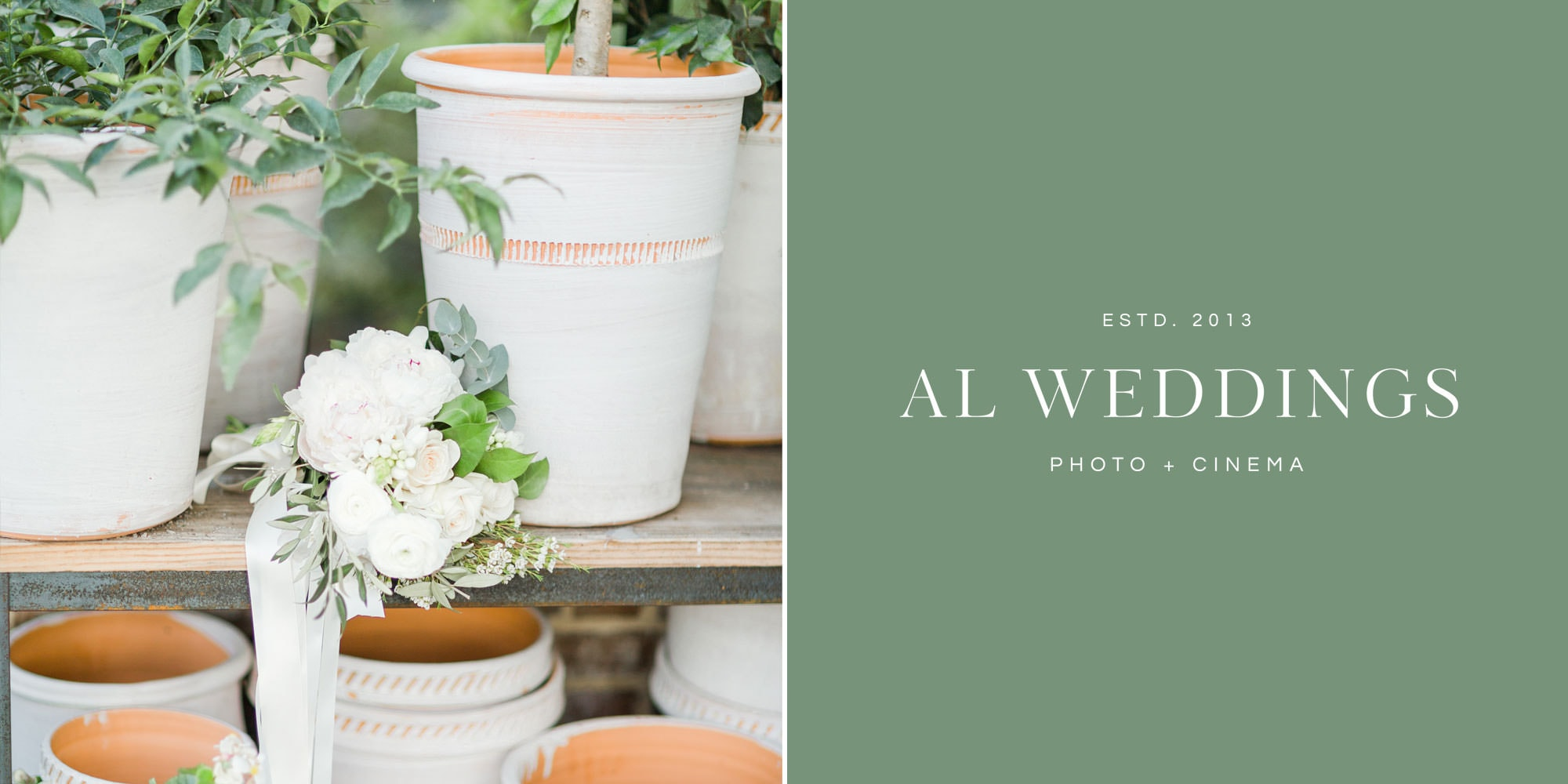 AL Weddings Custom Elementor WordPress website design by Davey & Krista
