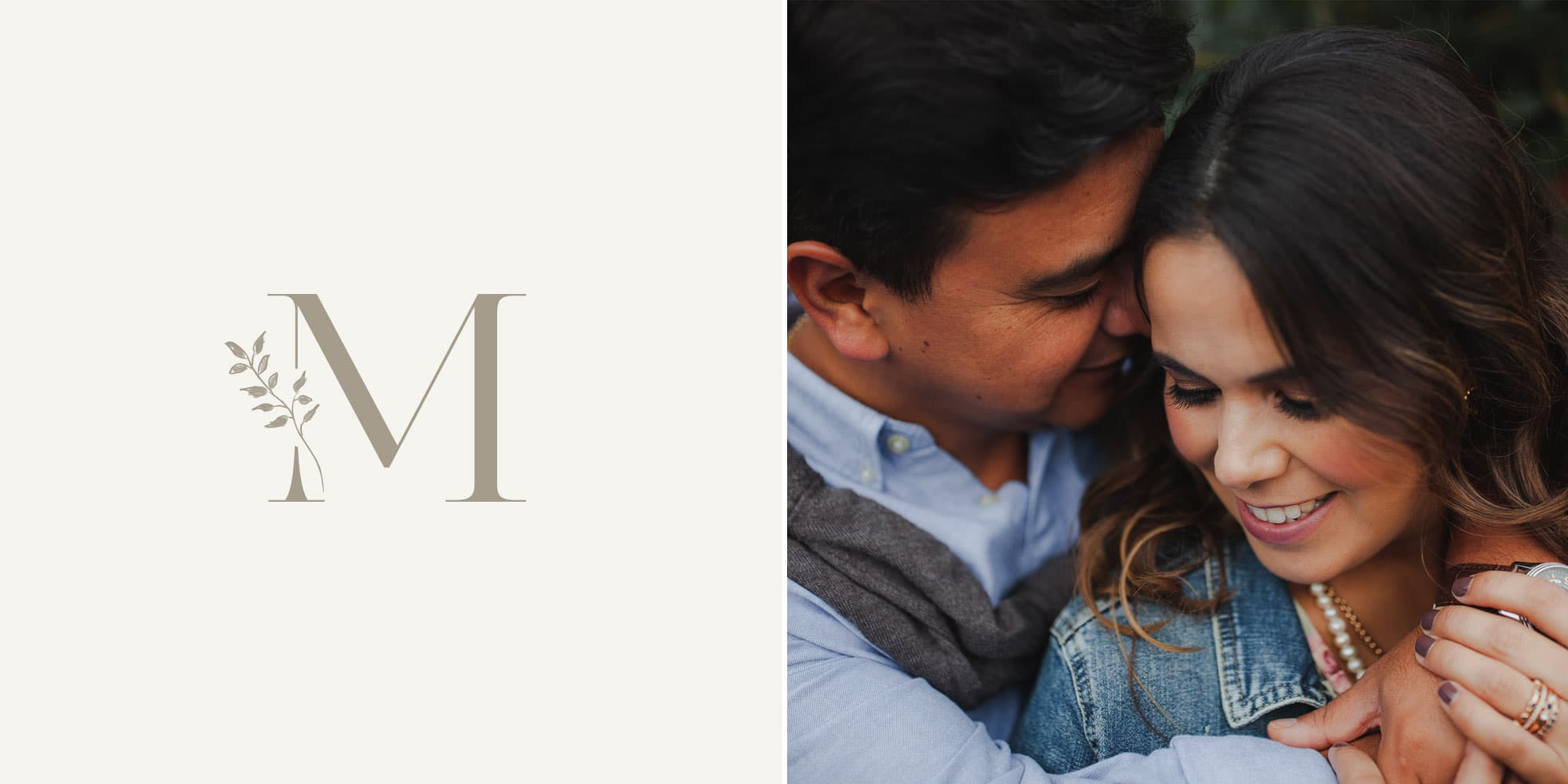 Custom brand & Showit WordPress website design for photographer Maria Ortiz by Davey & Krista