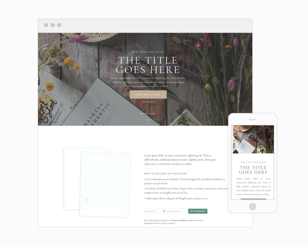 Create a landing page that converts   Davey and Krista