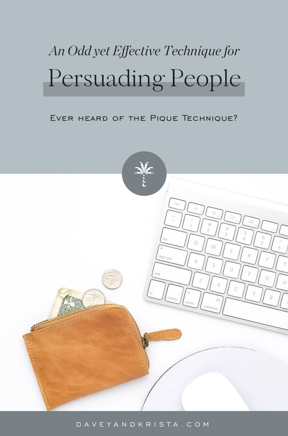 An Odd yet Effective Technique for Persuading People | Davey & Krista