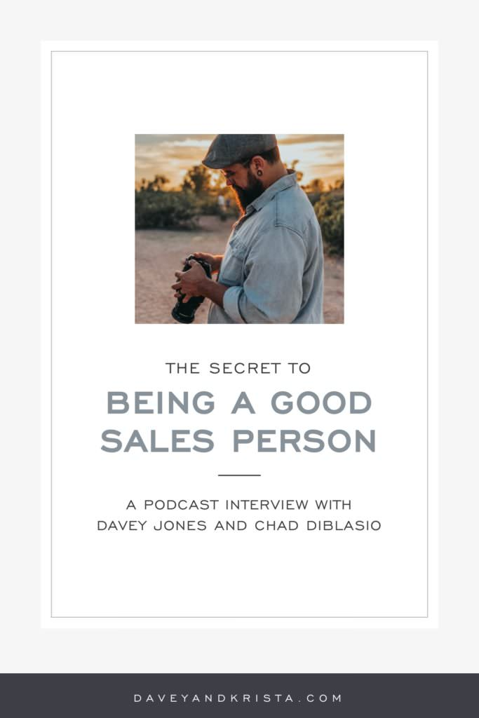 The Secret to Being a Good Sales Person | Brands that Book podcast | Davey & Krista