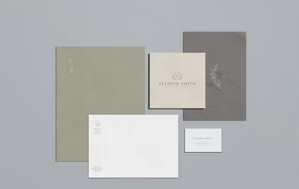 Crest branding for photographers and creatives | Davey & Krista
