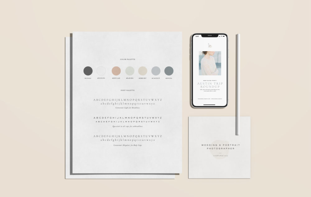 Pre-designed brands and logos for creatives and photographers | Davey & Krista