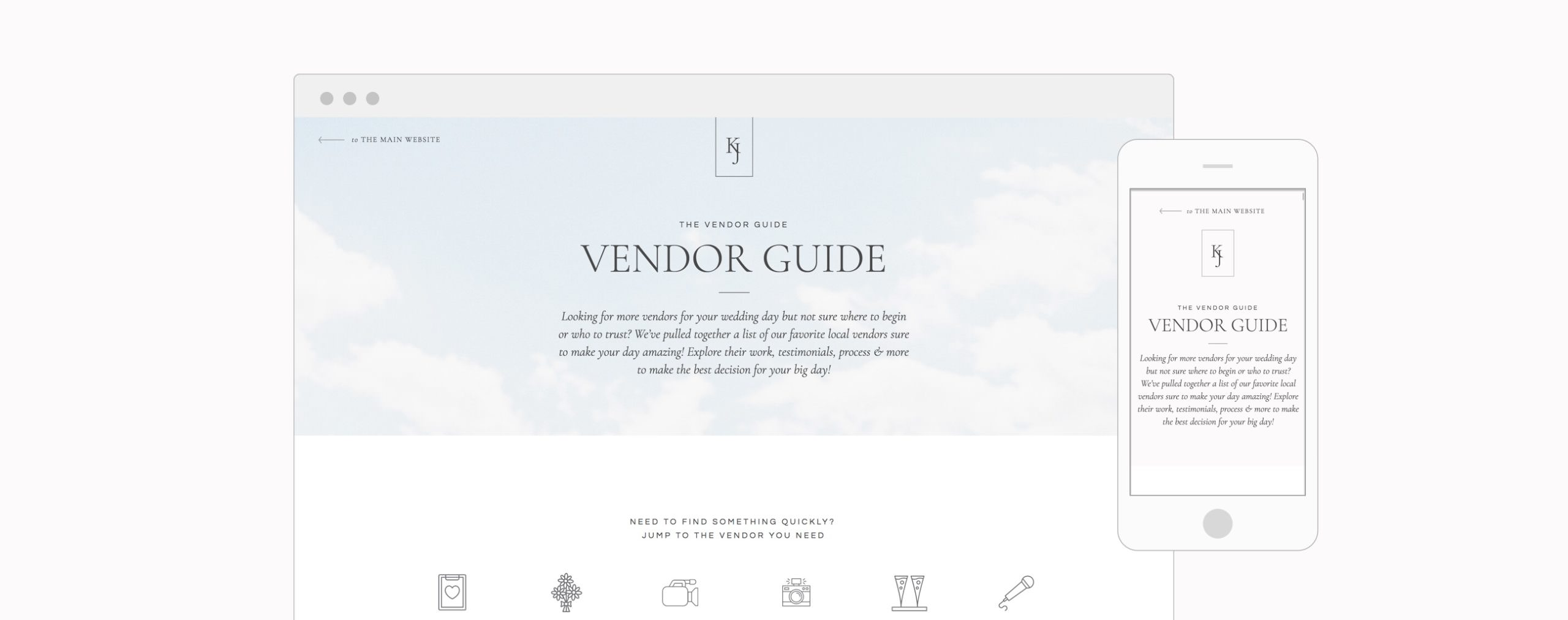 Product Header - Vendor Guide1