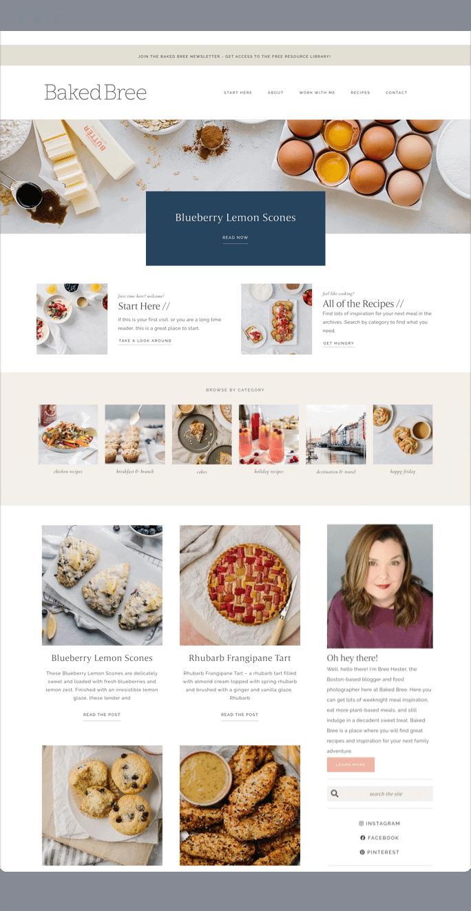 baked-bree-website-host-blogger-template