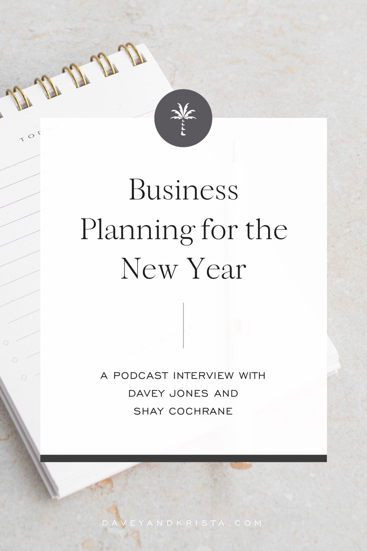 Business Planning for the New Year | Brands that Book podcast | Davey & Krista