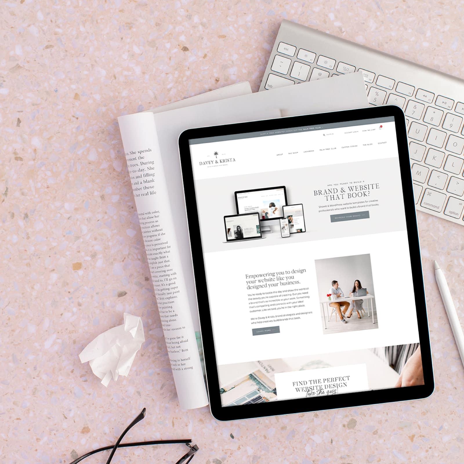 Core Website Vitals | Davey & Krista