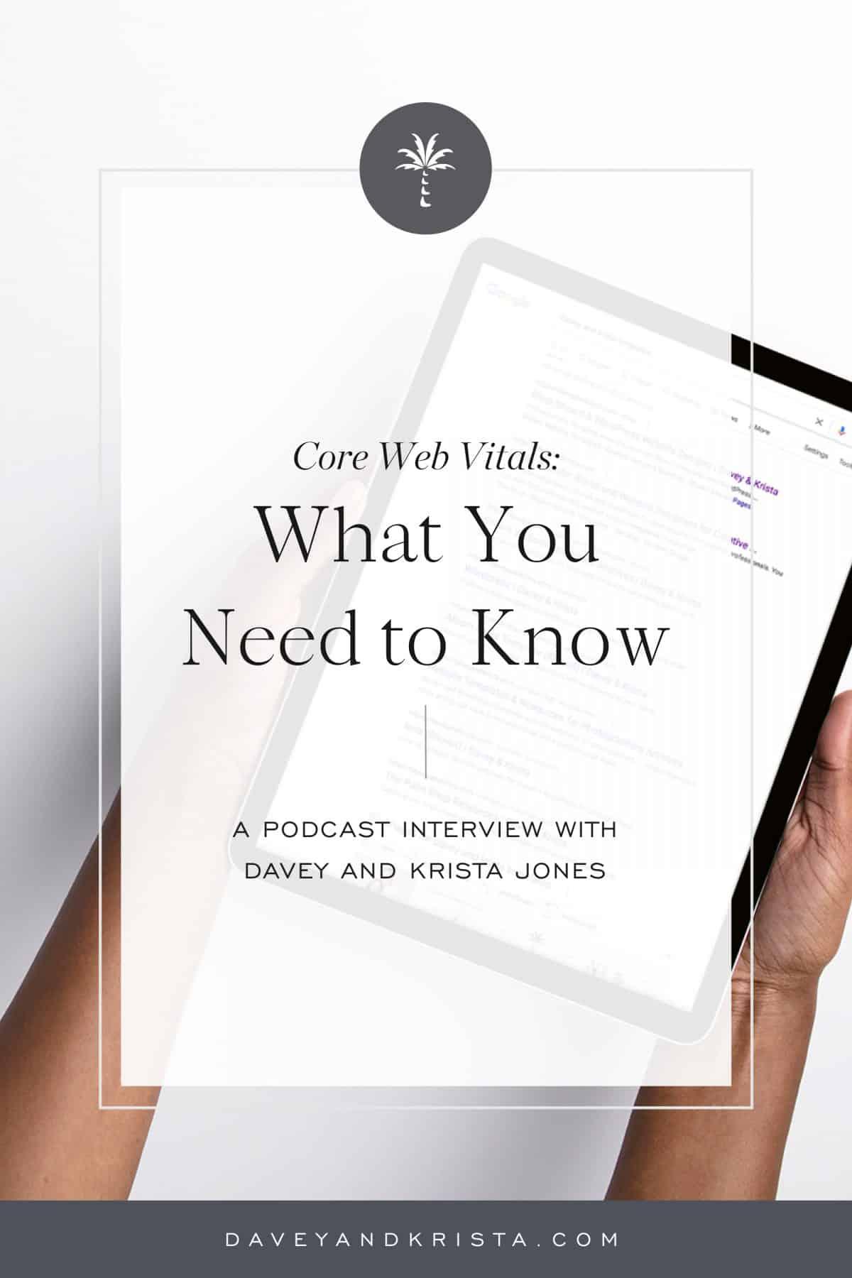 Core Web Vitals | Davey & Krista