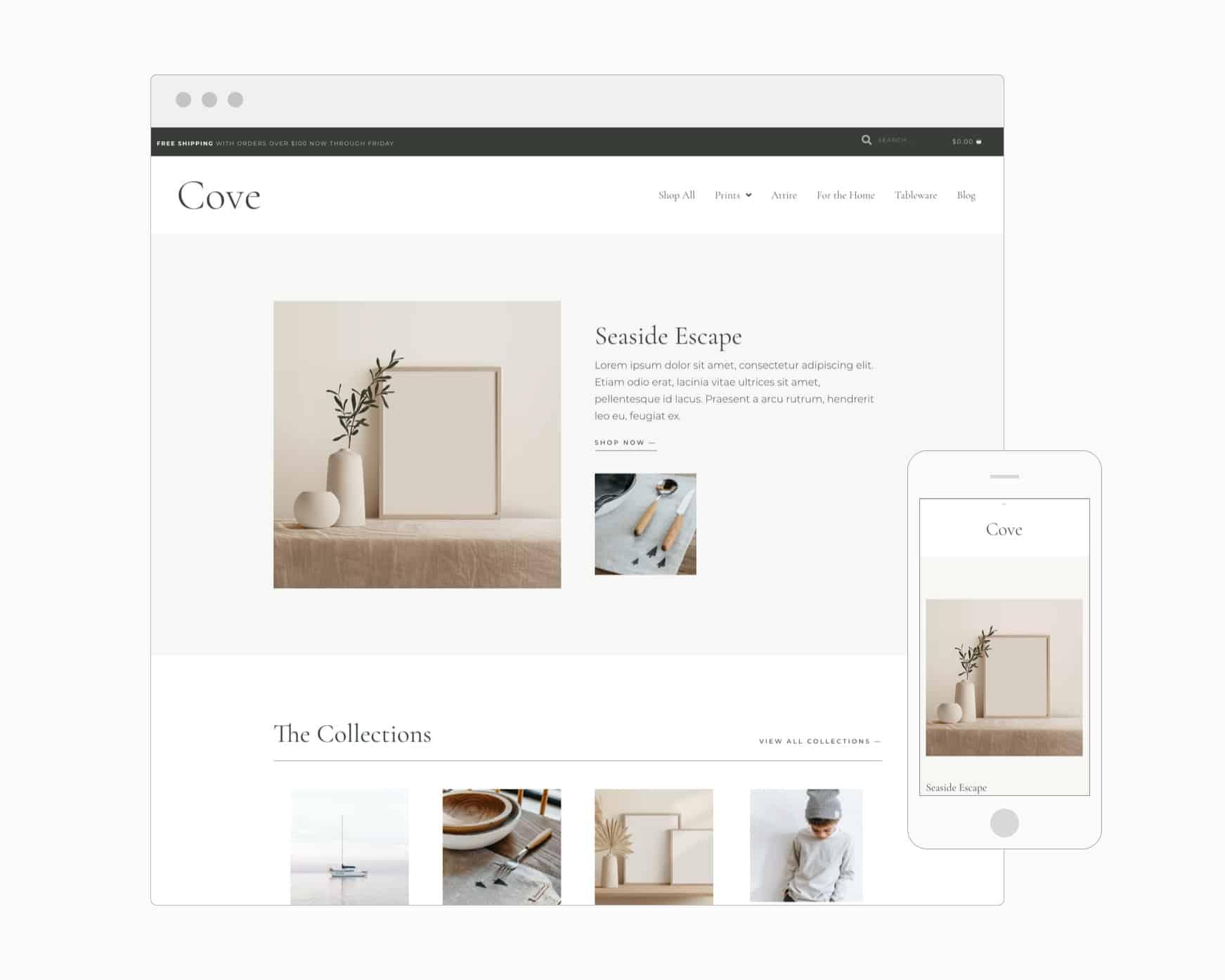 Cove (Showit)