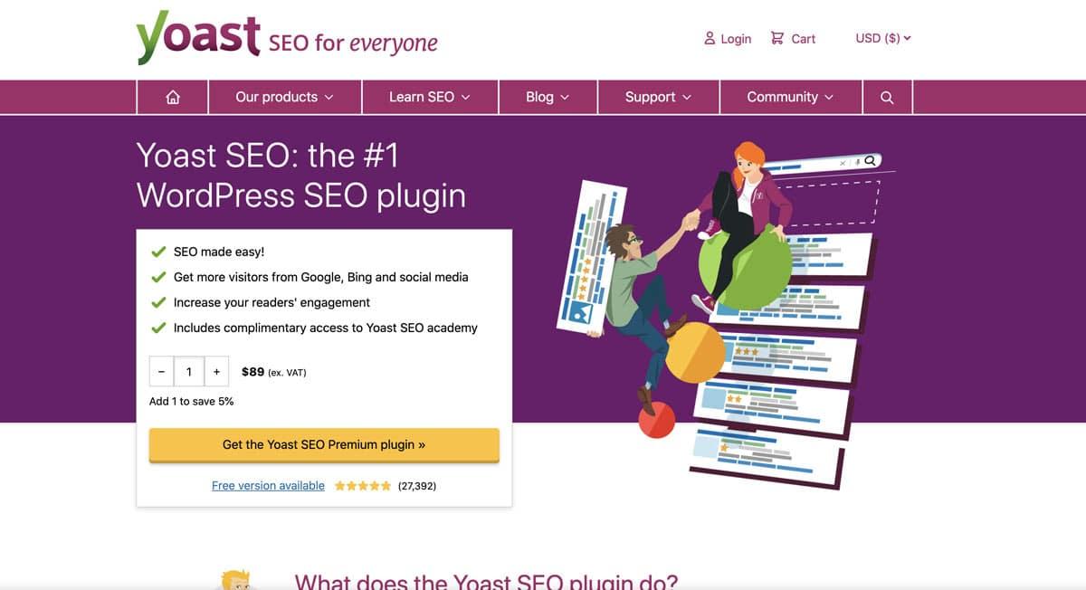 Yoast SEO WordPress SEO Plugin