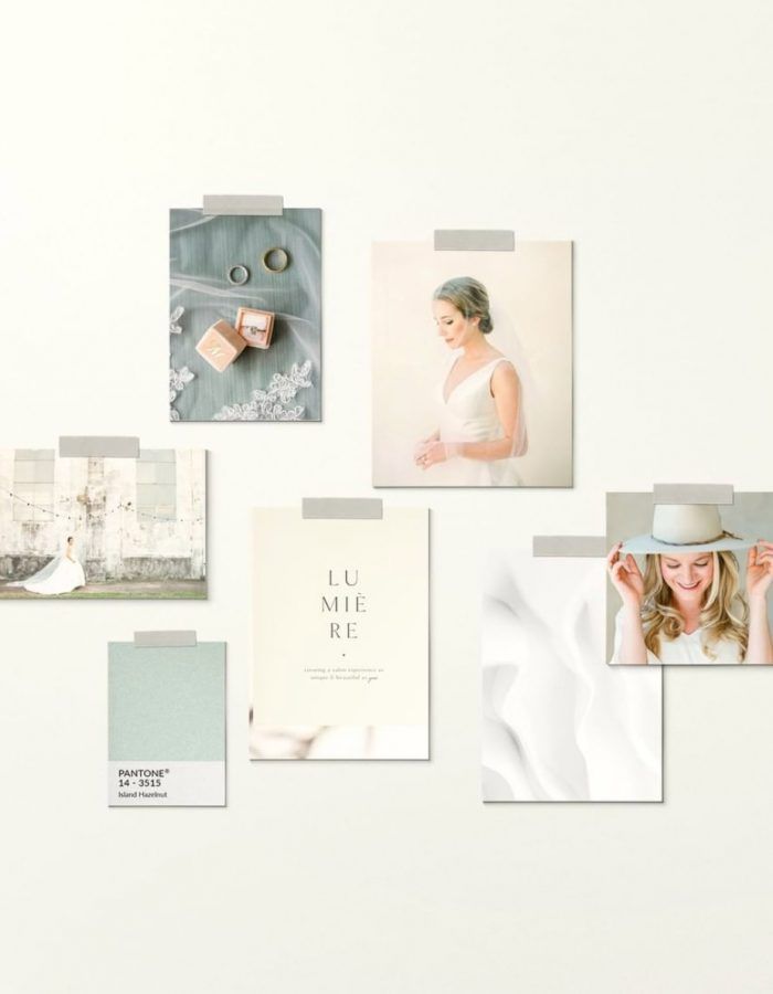 Catherine Guidry brand mood board by Davey & Krista