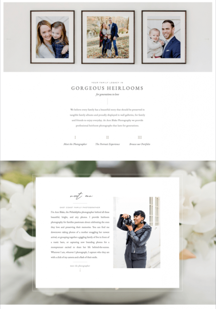 website-template-elementor-wordpress-photographers